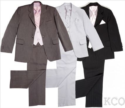 4 Piece Boys Suits