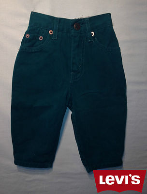 Boys Levis Jeans -Oreg Green 100% Authentic, New With Tags