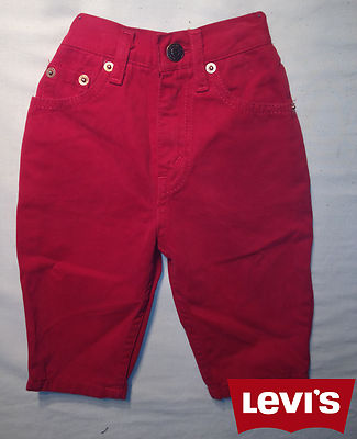 Boys Levis Jeans -Oreg red 100% Authentic, New With Tags