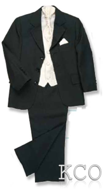 Lawrence Black/Ivory~ Boys Suits