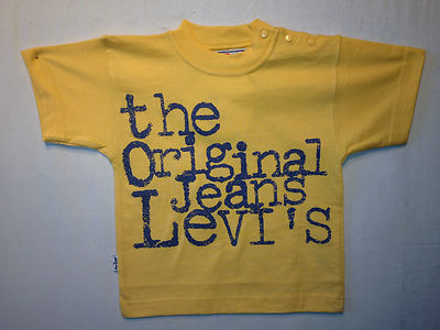 Levis T-Shirt- Compton Yellow, 100% Authentic Levis, Brand New, Great Price !!!