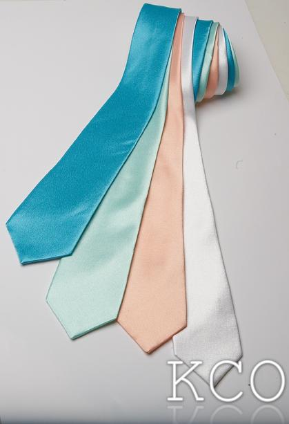 Long Tie White