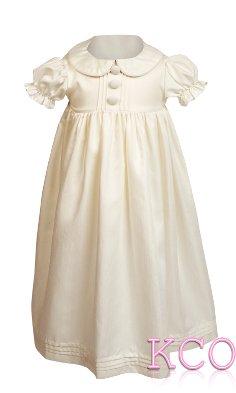 Pintuck Gown Ivory