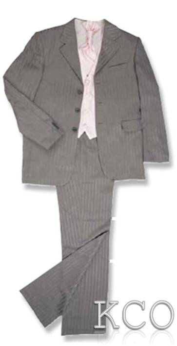 Richmond Grey/Pink~ Boys Suits