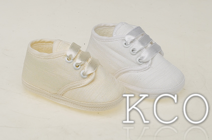 Style FJS003 Ivory~Boys Shoes