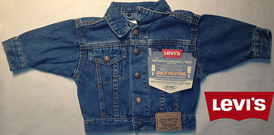 Boys Levis Jacket - Tennesee Denim 100% Authentic, New With Tags, Free Shipping!