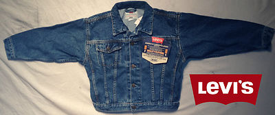 Boys Levis Jacket -Texas Denim 100% Authentic, New With Tags, Free Shipping!