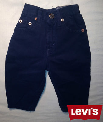 Boys Levis Jeans -Oreg Navy 100% Authentic, New With Tags