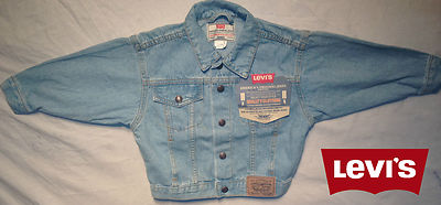 Boys Light Blue Levis Jacket - Tennesee Denim 100% Authentic, New With Tags