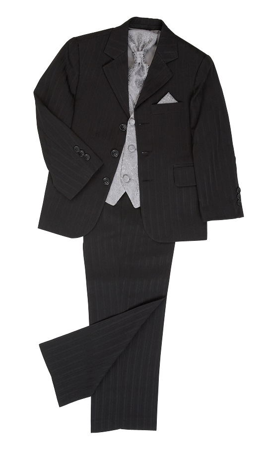 Brampton Black/Silver~ Boys Suits