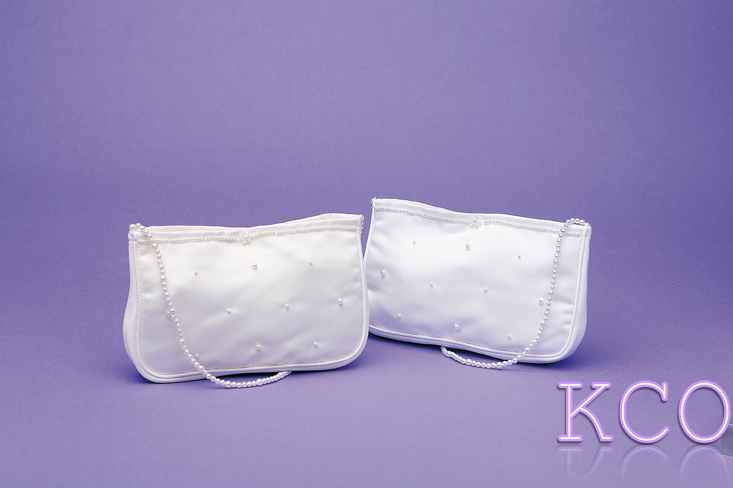 Dolly Bag Style M6138 White~ Special Occasion