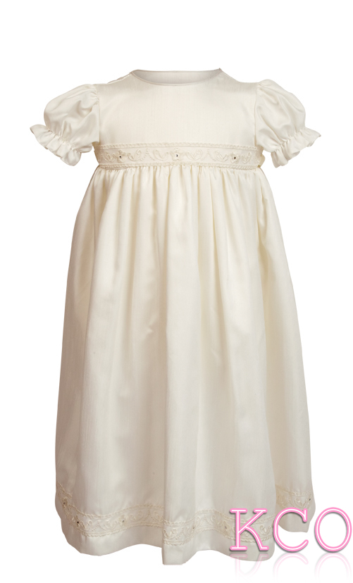 Dupion Gown Ivory