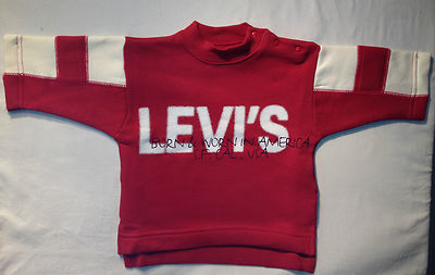 Levis Jumper- Niagara Red, 100% Authentic Levis Red, Brand New, Great Price