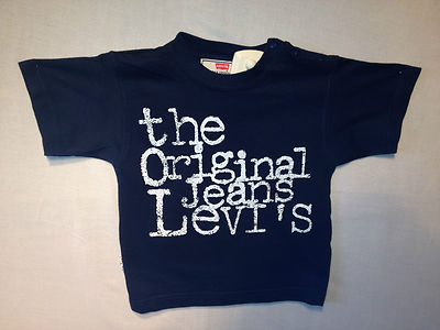 Levis T-Shirt- Compton Navy, 100% Authentic Levis, Brand New, Great Price !!!