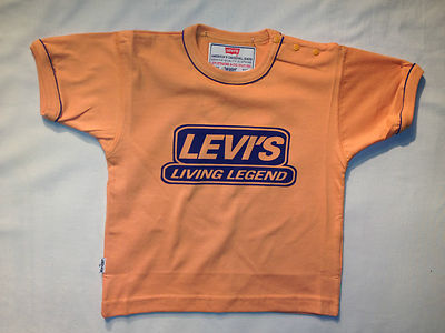 Levis T-Shirt- DavenPort Orange, 100% Authentic Levis, Brand New, Great Price