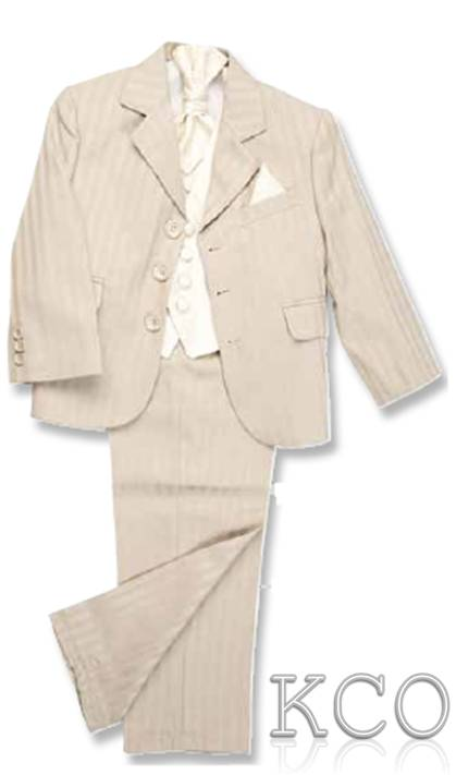 Richmond Beige/Cream~ Boys Suits