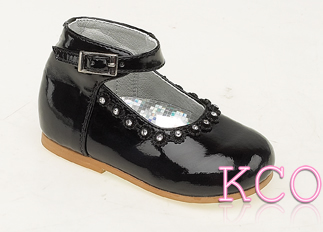 Style 8244 Black~Girls Shoes