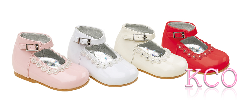 Style 8244 Ivory~Girls Shoes